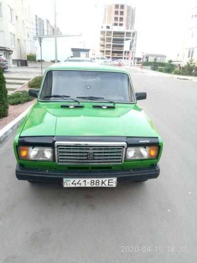 Реклама на авто Ваз Ваз 2107 в г. Киев - пробег 1000-1500 км/мес