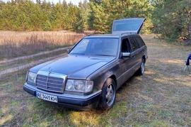 Реклама на авто Мерседес Mercedes Benz E300 1991 в г. Днепр - пробег 1000-1500 км/мес