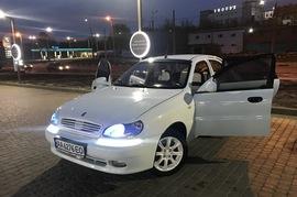 Реклама на авто Дэу Ланос 2004 в г. Харьков - пробег 3000-4000 км/мес
