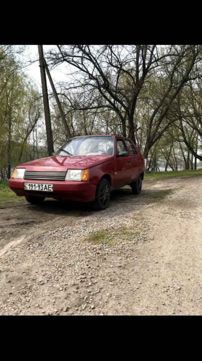 Реклама на авто Заз Славута 2003  в г. Днепр - пробег 1500-2000 км/мес