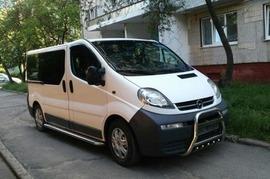 Реклама на авто Опель vivaro в г. Одесса - пробег 2000-3000 км/ мес