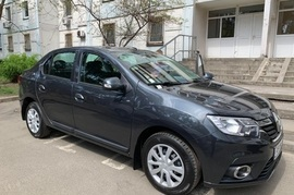 Реклама на авто Рено  Логан, 2019 в г. Киев - пробег 7000-10000 км/мес