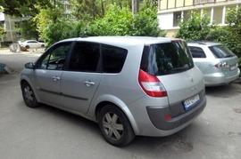 Реклама на авто Рено Renault Grand Scenic ІІ, 2005 в г. Киев - пробег 1000-1500 км/мес