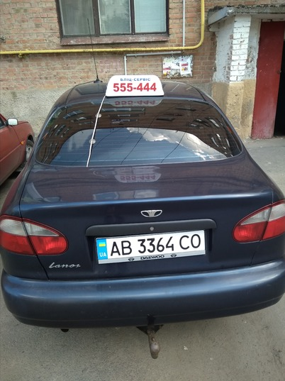 Реклама на авто Дэу  в г.  - пробег 1000-1500 км/мес