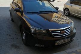 Реклама на авто Джили Geely Emgrand 7, 2013года в г. Киев - пробег 3000-4000 км/мес