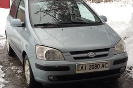 Реклама на авто Хундай Hyundai Getz, 2005 в г. Киев - пробег 500-1000 км/мес