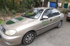 Реклама на авто Заз Daewoo Sens, 2015 в г. Киев - пробег 1500-2000 км/мес