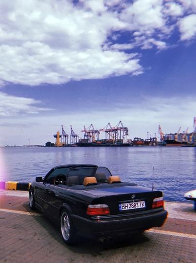 Реклама на авто БМВ BMW 1995 в г. Одесса - пробег 1000-1500 км/мес