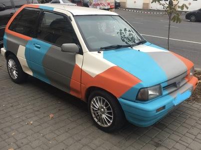 Реклама на авто Форд  festiva 86 в г. Одесса - пробег 500-1000 км/мес