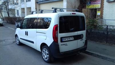 Реклама на авто Фиат Добло макси. 2015 в г. Киев - пробег 2000-3000 км/мес