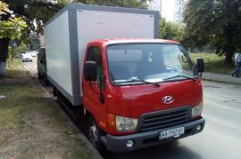 Реклама на авто Хундай Hyundai HD65 2008г в г. Киев - пробег 1500-2000 км/мес