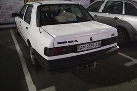 Реклама на авто Форд SIERRA 1991г.в. в г. Киев - пробег 2000-3000 км/мес