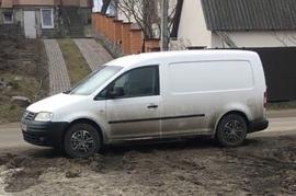 Реклама на авто Фольксваген Volkswagen caddy maxi 2008 в г. Киев - пробег больше 10 000 тыс км/мес